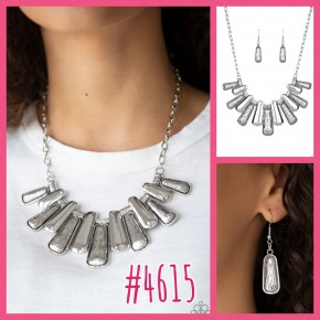 MANE Up - Silver Necklace
