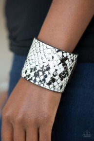 What's HISS Is Mine - White Urban Bracelet