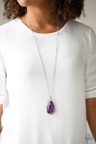 Maven Magic - Purple Necklace
