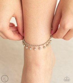 West Coast Cruzin' - Silver Anklet