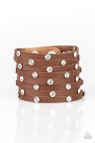 Sass Squad - Brown Urban Bracelet