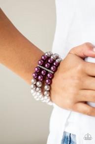 Central Park Celebrity - Purple Bracelet