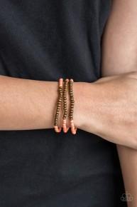 Woodland Wanderer - Orange Bracelet