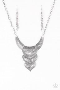Texas Temptress - Silver Neklace