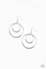 Put Your Sol Into It - Silver Earrings
