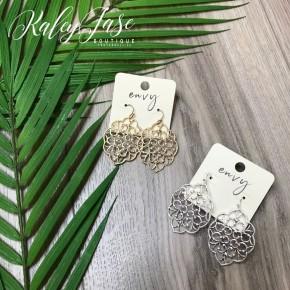 Intricate Design Dangle Earrings -C5
