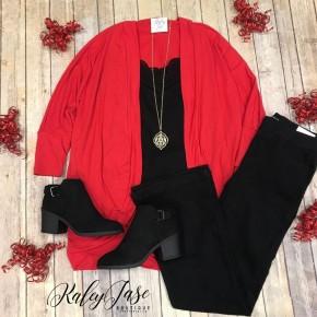 Z Red Kimono