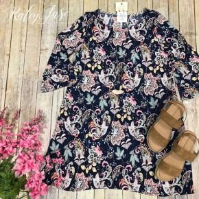 HM Paisley Design Floral Dress
