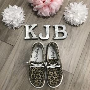 Very G Leopard Slide on Shoe