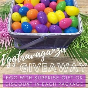 Eggtravaganza Giveaway