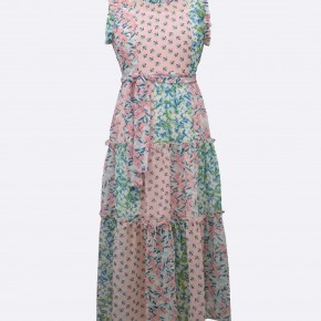 Bonnie Jean Leni Floral Maxi Dress