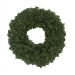"18"" CANADIAN PINE WREATH"