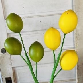 """12"""" Lemon and Lime Pick"""