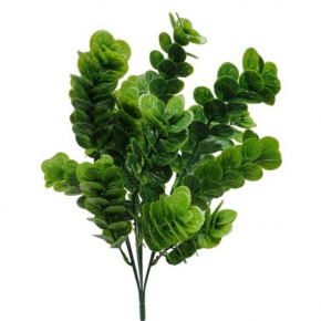 """Large Euc Leaf Bush - 16.5"""""""