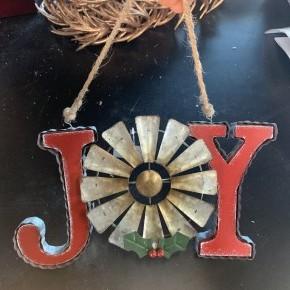 Galvanized Joy Windmill Hanger