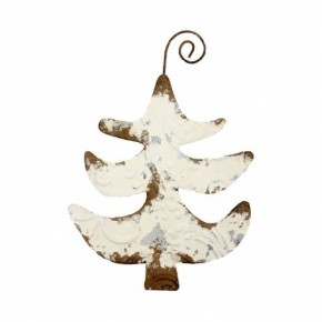 Vintage Metal Tree Ornament