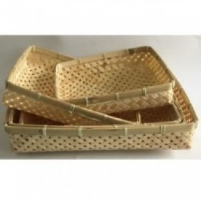 Rectangle Woven Tray -  5 sizes
