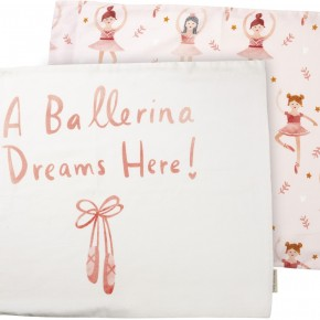 Pillowcase Set - Ballerina