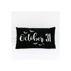 October 31 Halloween Pillow