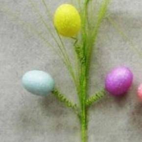 """21"""" Glitter Egg Spray"""