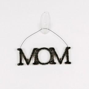 Mom Cutout Hanging Sign