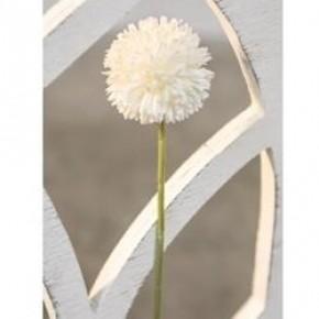 Pompom Stem, White