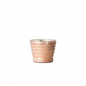 Mercury Glass Tealight Holder, Pink