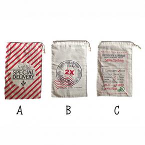 Large Santa Sack Drawstring Bag