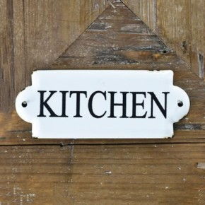 "7"" KITCHEN TIN SIGN"
