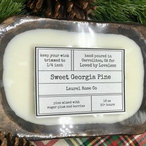 Dough Bowl Candle - Sweet Georgia Pine