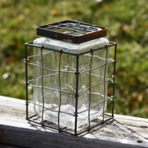 """7"""" Square Stem Jar"""