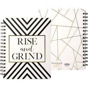 Rise & Grind Spiral Notebook
