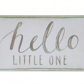 "Wall Decor ""Hello Little One"""