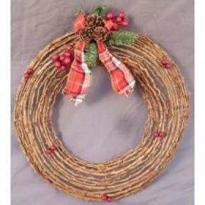 Mountain Rattan Wreath