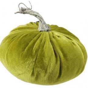 Velvet Soft Pumpkin - Moss Green