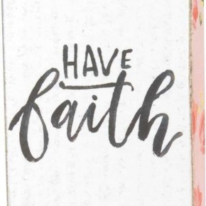 Block Magnet - Have Faith