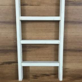 White Towel Ladder