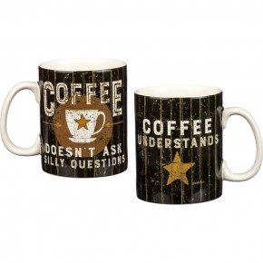 Mug - Coffee Doesn't Ask Silly Questions