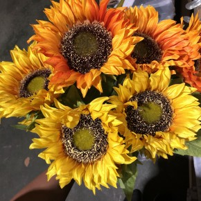 "26.4""H Sunflower Stem"