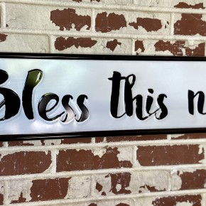 """""""Bless This Nest"""" Sign"""