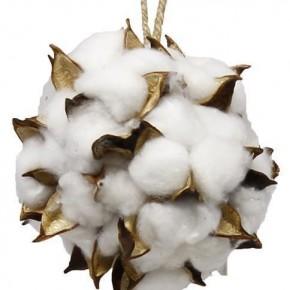 "4.5"" Cotton Ball w/ Hanger"