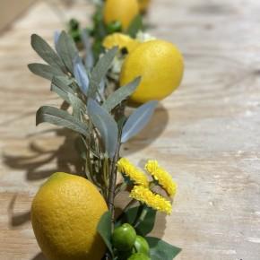 5' Lemon Splendor Garland