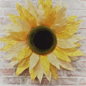 "25"" Jumbo Polka Dot Sunflower"