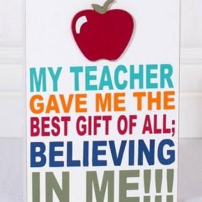 """""""My Teacher"""" Wall Sign"""