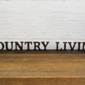 COUNTRY LIVING SIGN