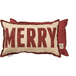 Pillow - Merry Red