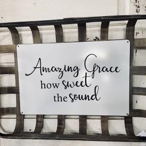 "20.3"" ""Amazing Grace"" Tobacco Basket"