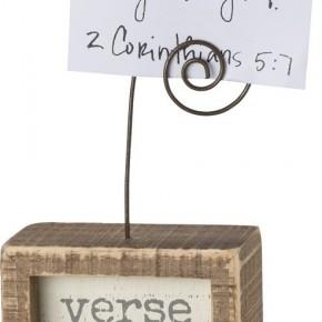 Inset Photo Block - Verse