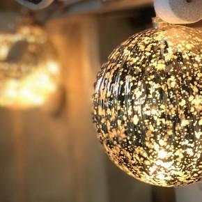Gold Mercury Glass Ball