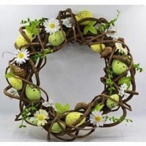 Wreath W/Eggs